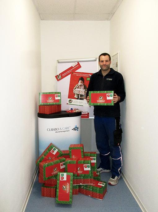 """Hoffnung schenken mit """"Weihnachten im Schuhkarton"""" - Curatio & Care®"""