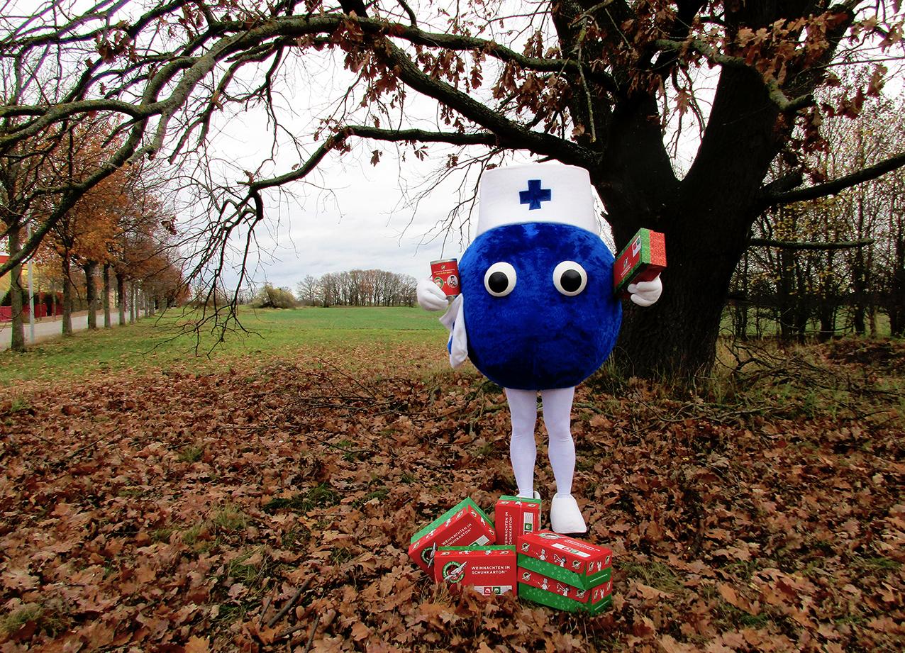 Weihnachten im Schuhkarton 2020 - Curatio & Care®
